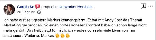 Network Marketing Bewertungen
