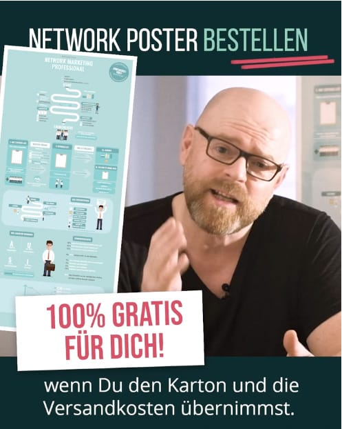 Network Poster - kostenfrei zusenden